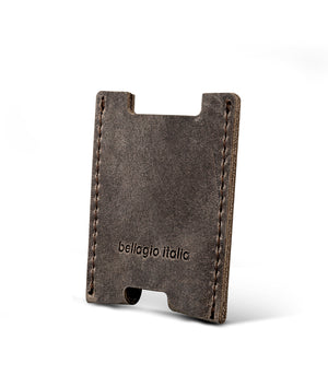 Bellagio-Italia Full Grain Leather Notebook and Wallet Gift Set