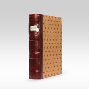 Bellagio-Italia Tuscany CD/DVD Storage Binder Crimson - Single