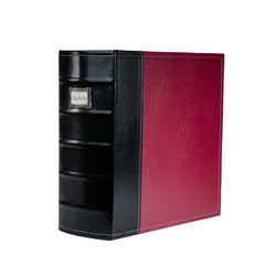 "Bellagio-Italia XL 3"" Binder, Burgundy"