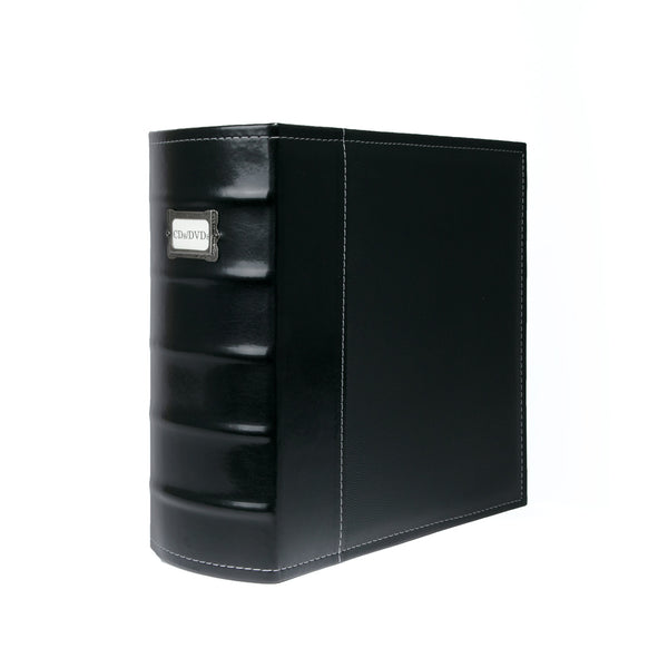 "Bellagio-Italia XL 3"" Binder, Black"