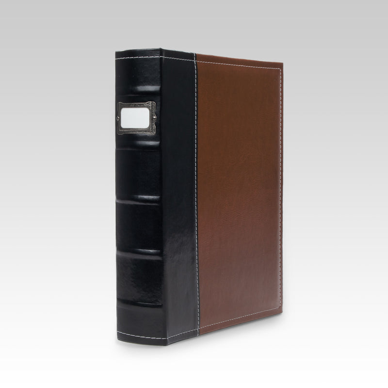 Classic 3-Ring Office Binder, Brown