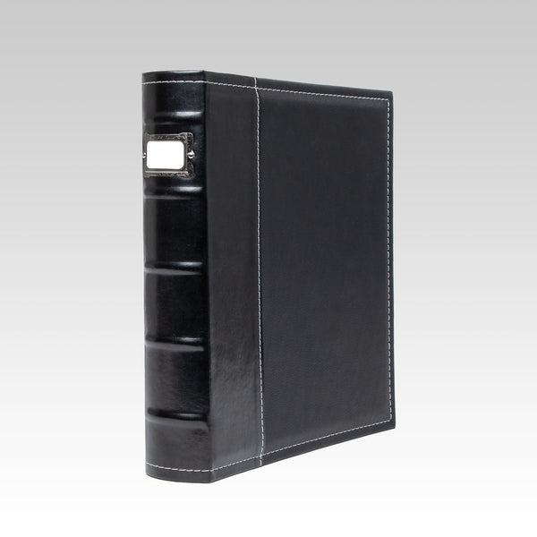 Classic 3-Ring Office Binder, Black