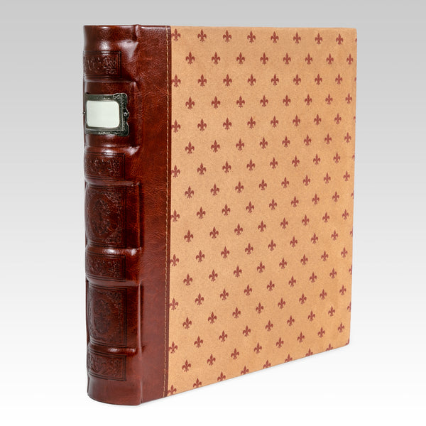 Tuscany 3-Ring Office Binder, Crimson