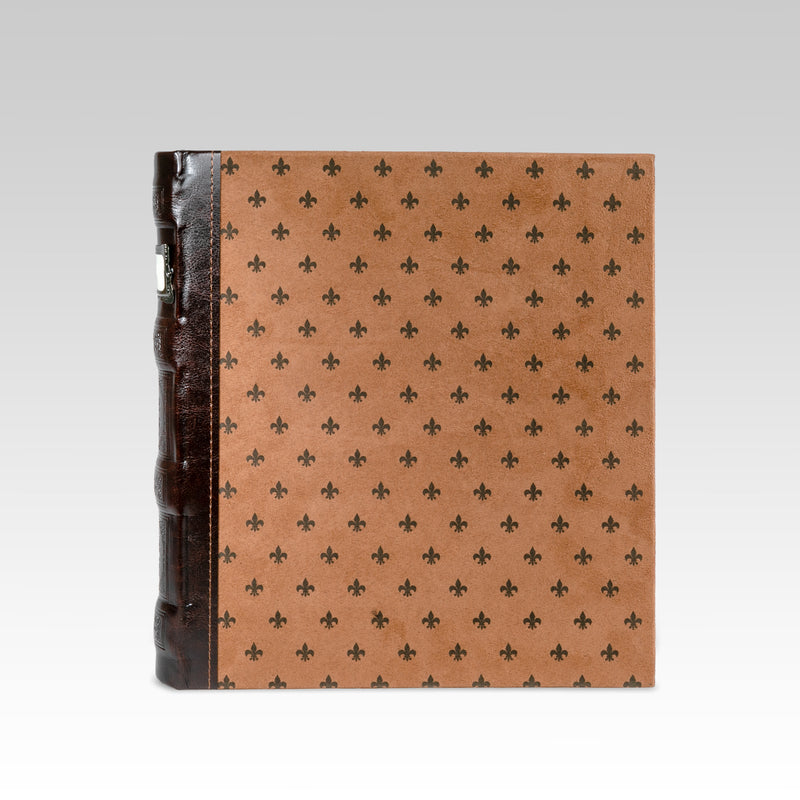 Tuscany 3-Ring Office Binder, Chestnut