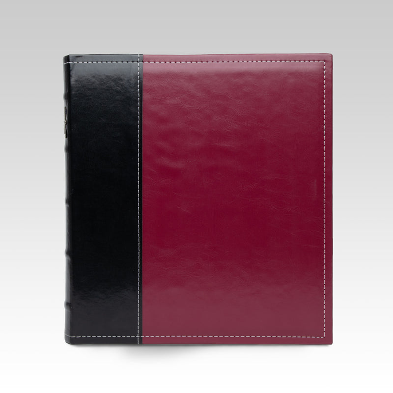 Classic 3-Ring Office Binder, Burgundy