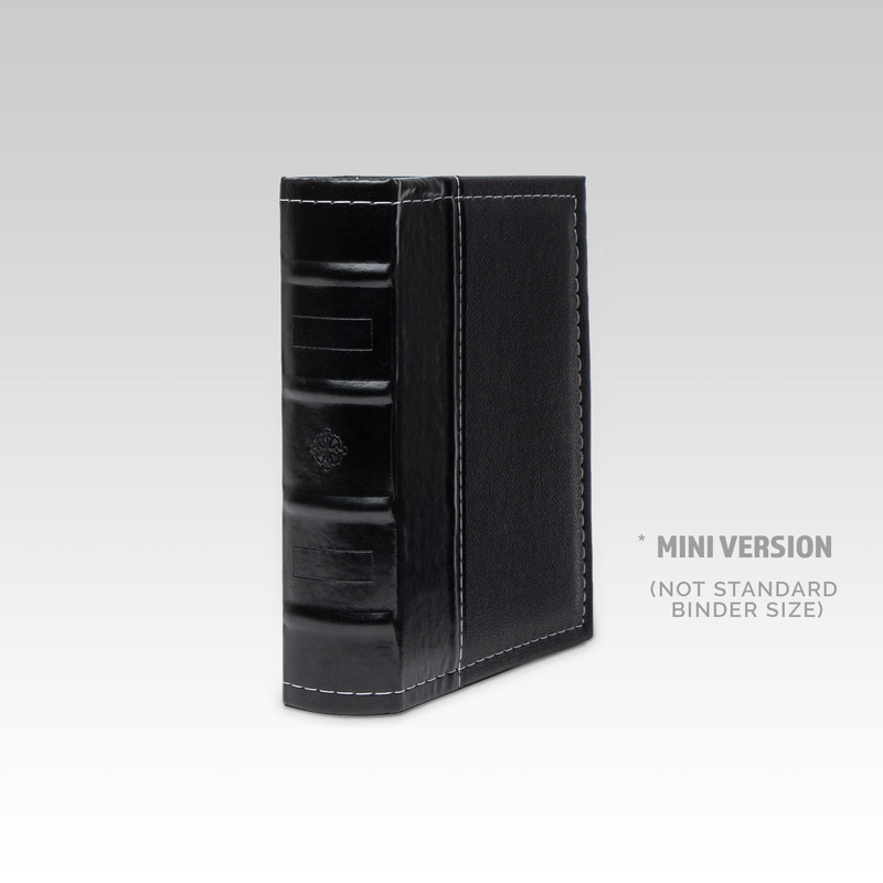 MINI DVD Binder - Black