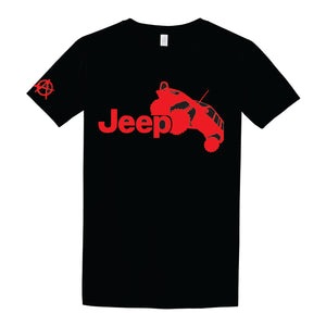Jeep off road truck T Shirt - Anarchy