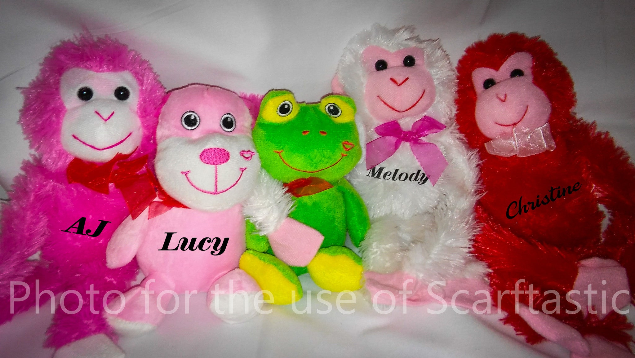 Personalized Plush Animal With Name
