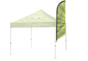 Feather flag Tent Flag
