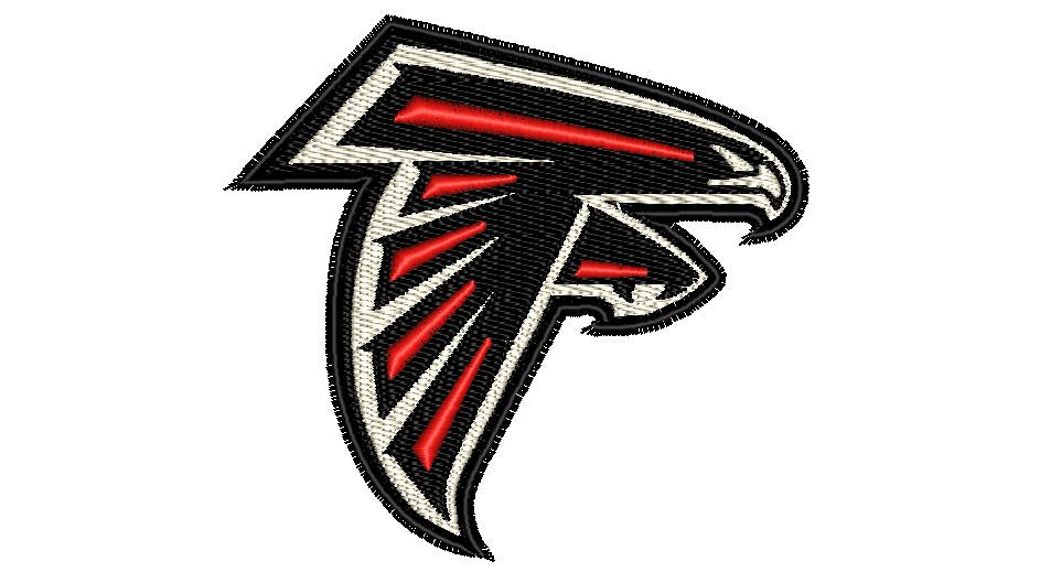 "Patch Craft - Atlanta Falcons Patch - (1.3"" x 1.2"" Iron On patch)"