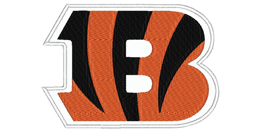 "Patch Craft - Cincinnati Bengals - (7""x 4.9"" Complete Applique Iron On patch)"