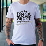 Dogs welcome people tolerated / Dog lover Tee / Dog Mom Shirts, Fur Mama, Dog Lover Shirt, Dog Mom