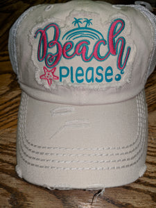 Urban Design Cap - Beach Please