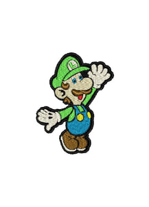 "Patch Craft - Luigi - (2.7"" x 3.5"" Complete Stitches Iron On)"