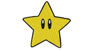 "Patch Craft - Super Mario Brothers Star - (2"" x 2"" Patch Iron On)"