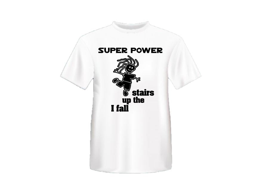 Super Power - I fall up the Stairs