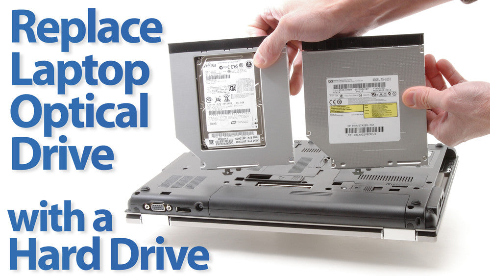 HDD / SSD Caddies for laptops