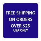 Free Shipping US Over $25