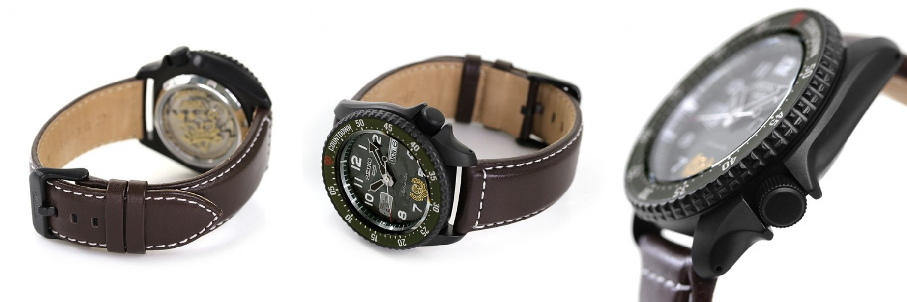 SRPF21 Seiko 5 Sports Street Fighters V Limited Edition - GUILE