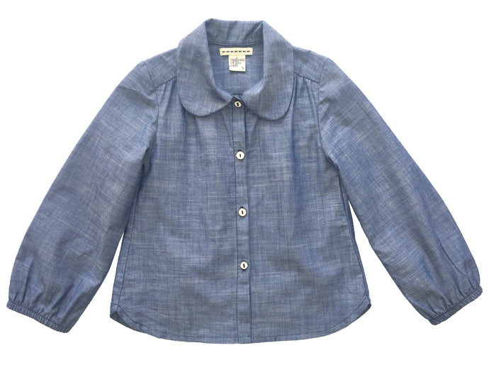 Library House - Indigo Chambray