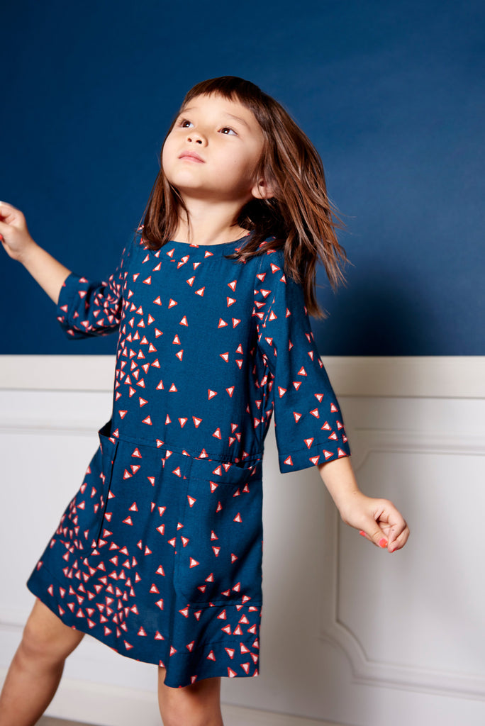 Petite Galaxie Shift Dress