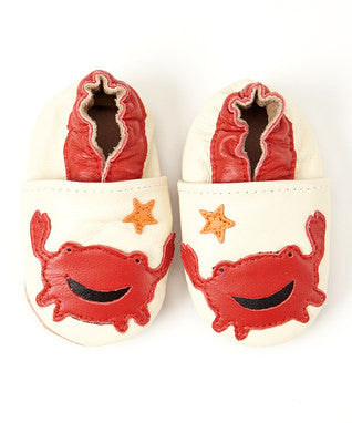 Leather Crab Infant Shoe