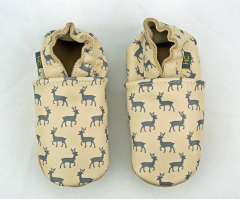 Leather Deer Infant Shoe