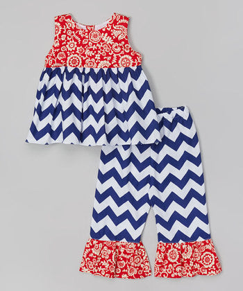 Chevron Pant Set