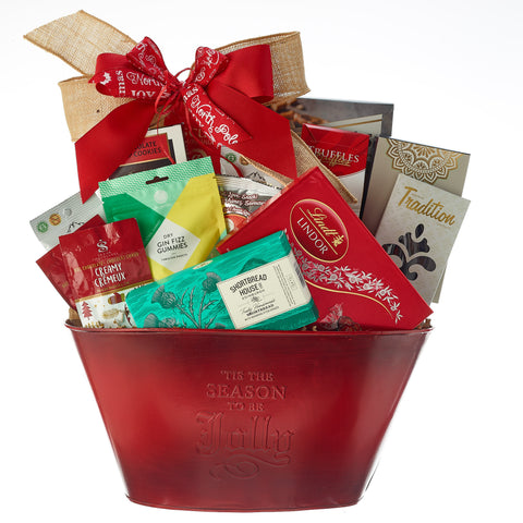 Baby get well christmas gift baskets toronto canada free delivery holiday gift baskets negle Choice Image