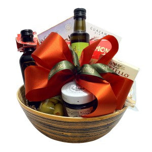 salad bowl italian gift basket