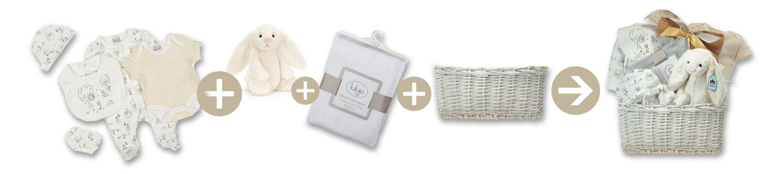 Make Your Own Baby Gift Baskets