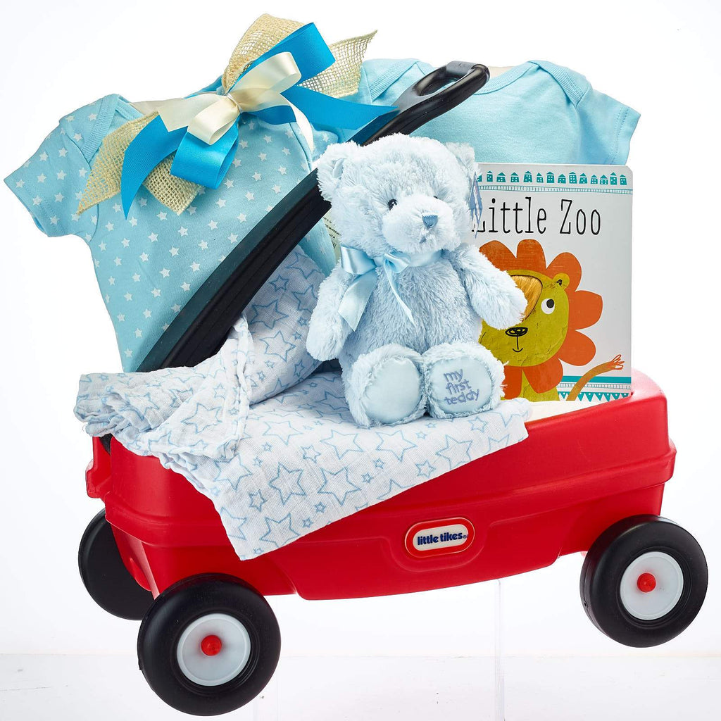 Baby Boy Wagon Little Tikes