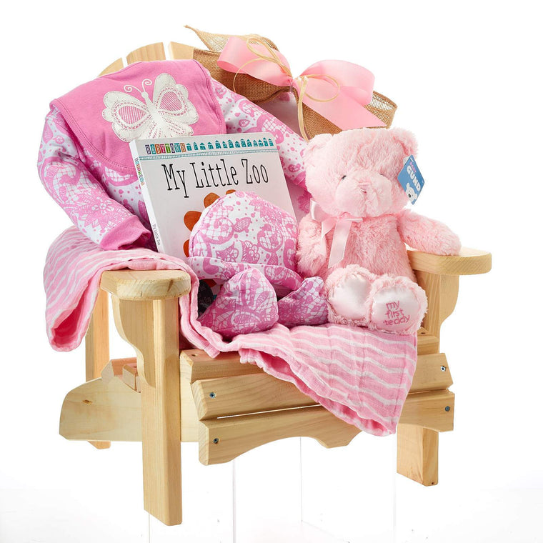 Baby Girl Mini Muskoka Chair