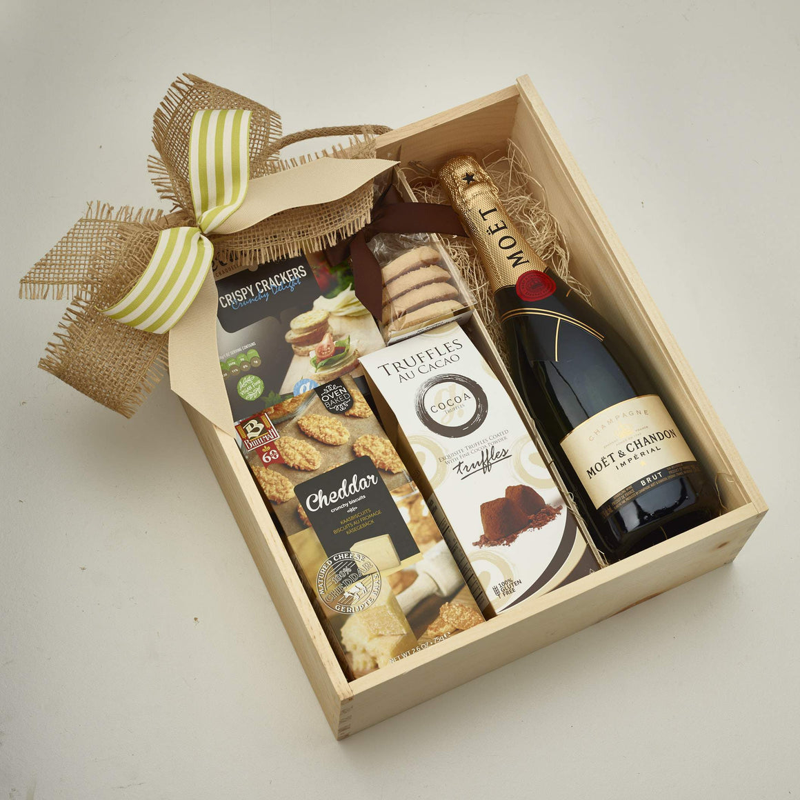 Gift Box With Champagne