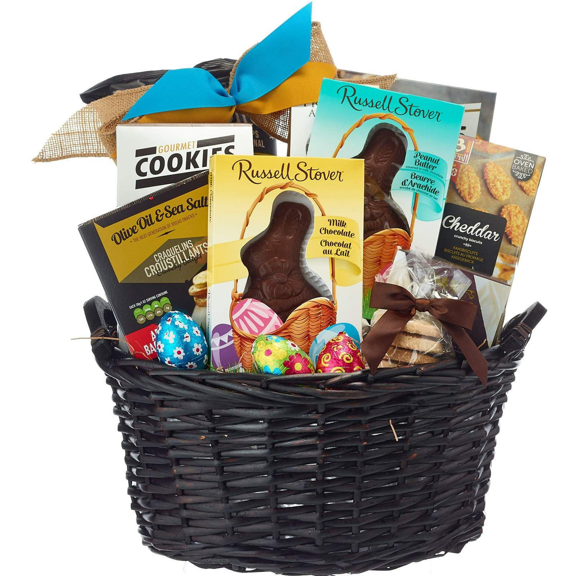 Easter Gifts With Chocolate Bunny