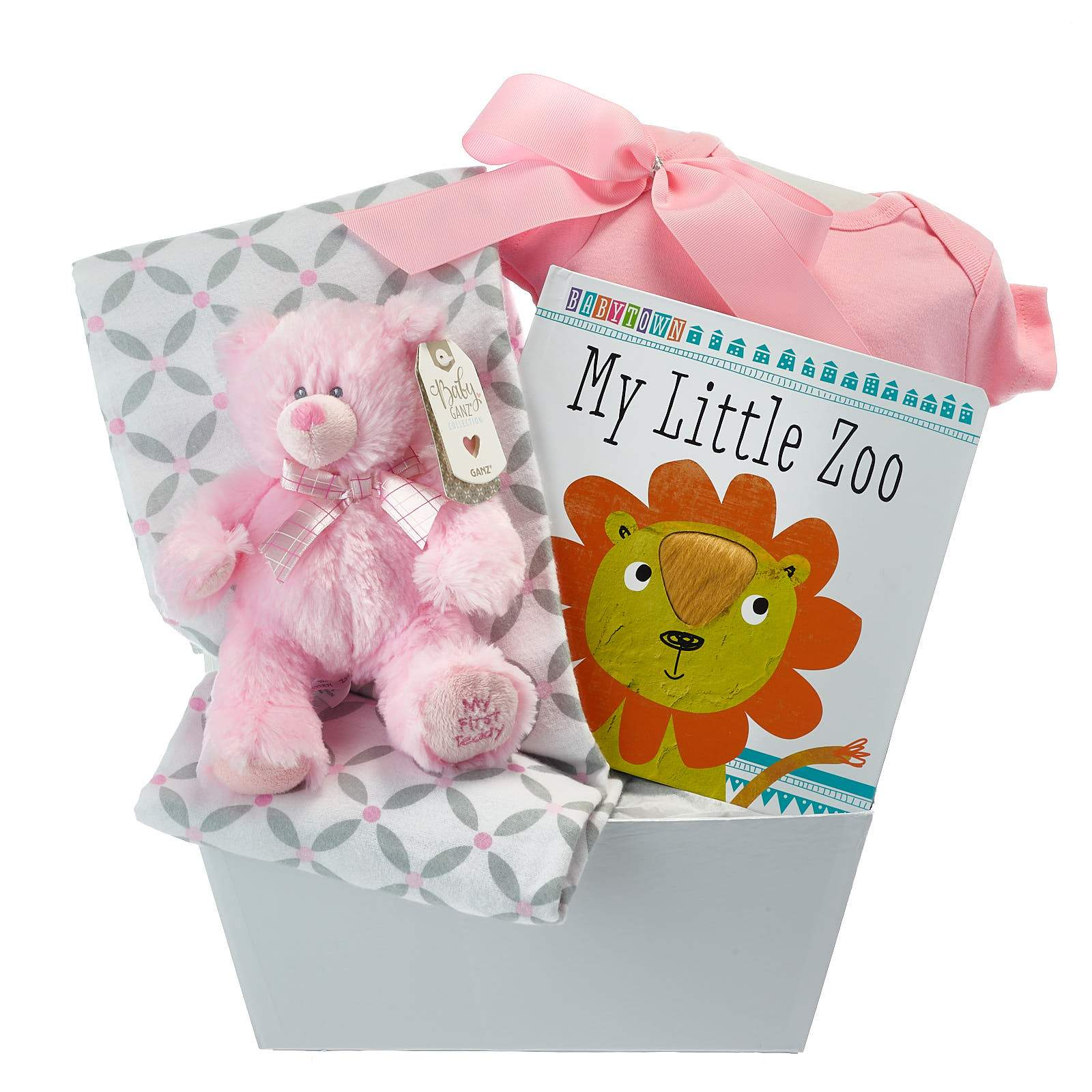 Baby Girl First Teddy Gift