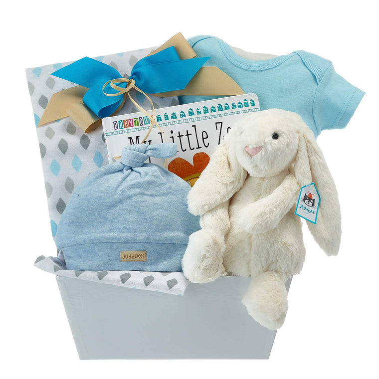 ad94599f4f2ad Baby Boy Gift Baskets You Will Love. [Free Delivery Over $100]
