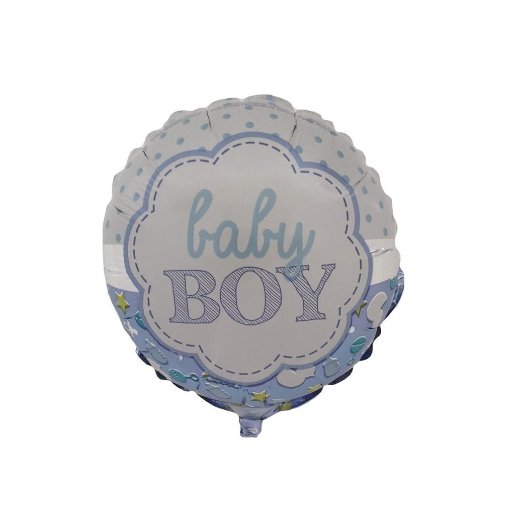 baby boy blue balloon
