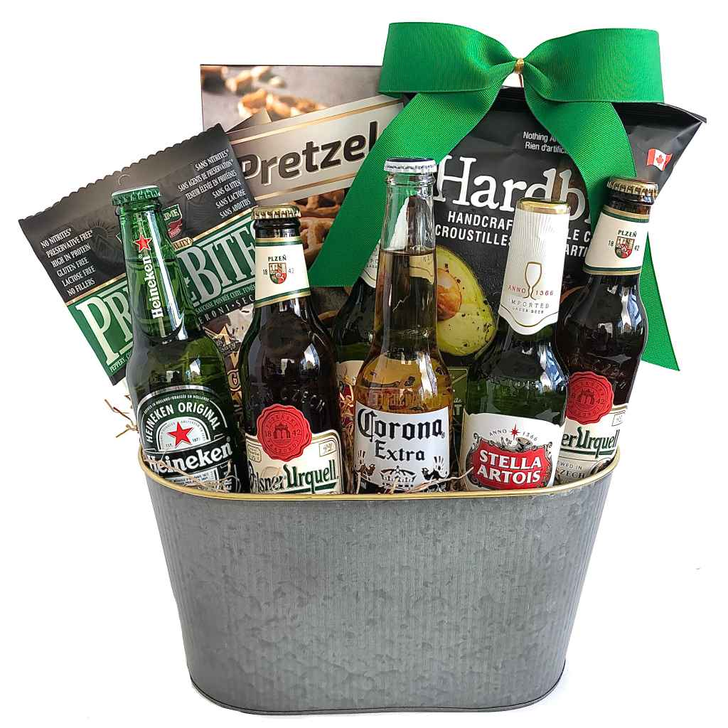 Beer and sausages gift delivery Ontario