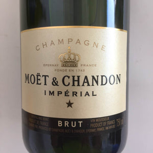Moet Chandon French Champagne 750 mL