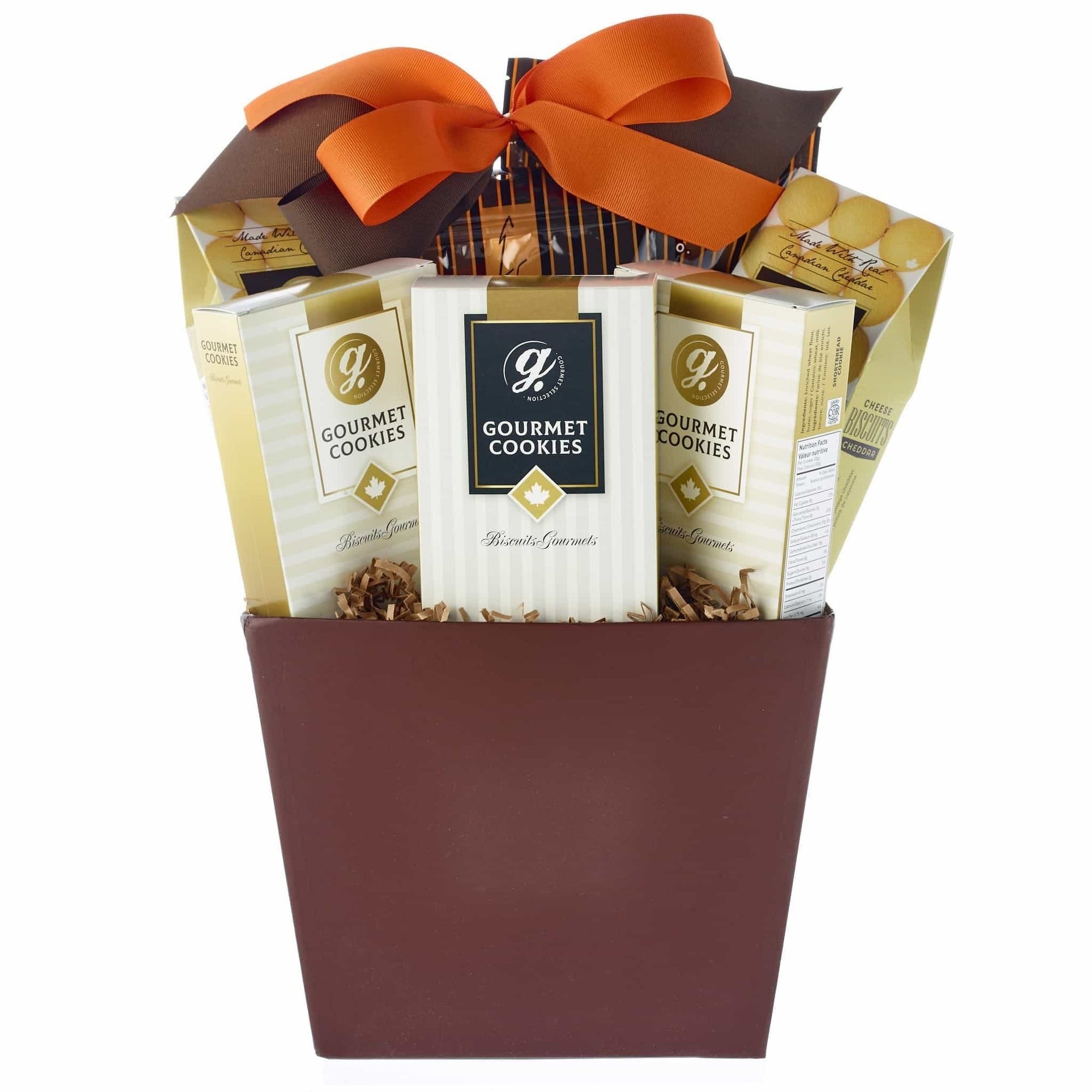 assorted cookies gift basket