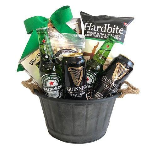 Gift basket for St Patrick's Day