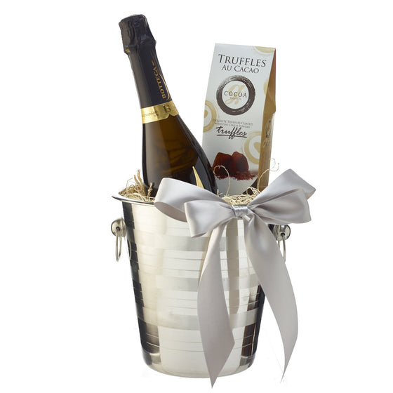 Ice Bucket With Sparkling Wine