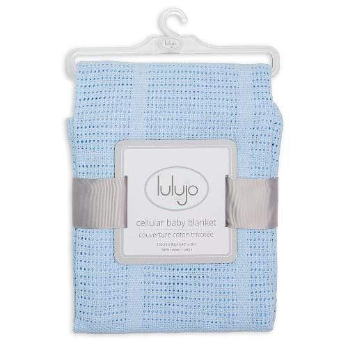 Baby Boy Blue Blanket