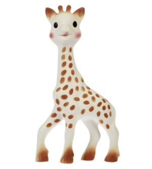 Most popular toy Sophie Giraffe