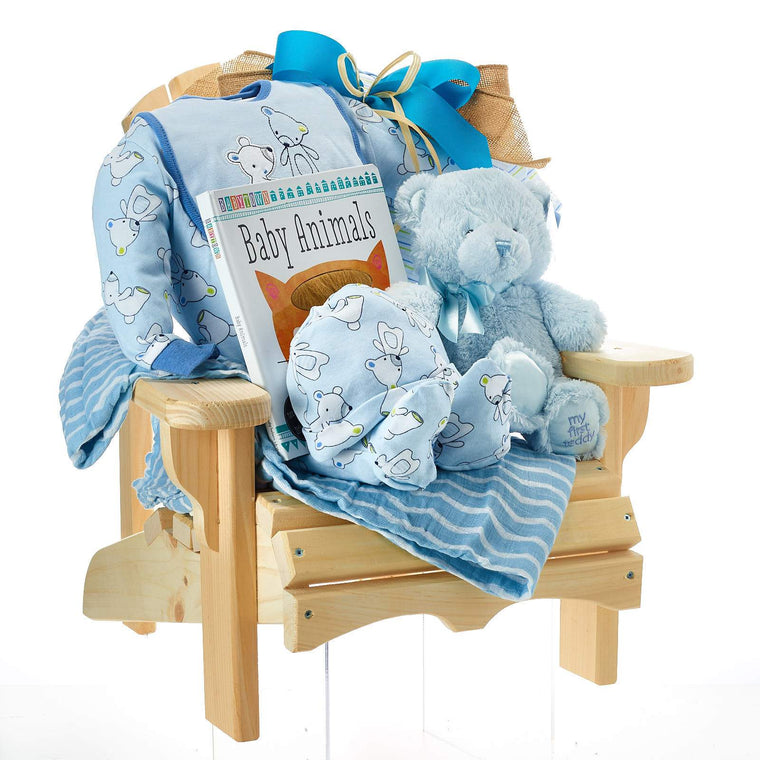 Baby Boy Muskoka Chair Gift