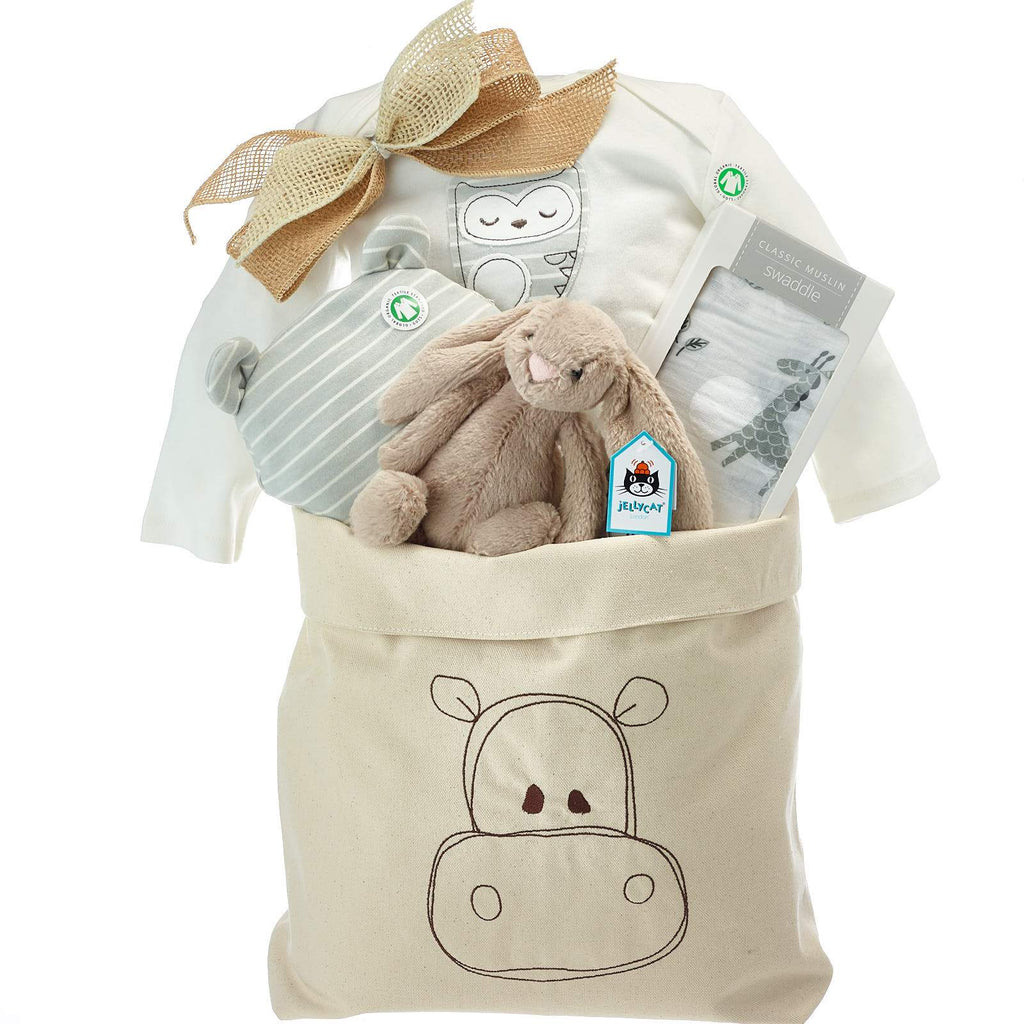 Organic Neutral Baby Gift Baskets