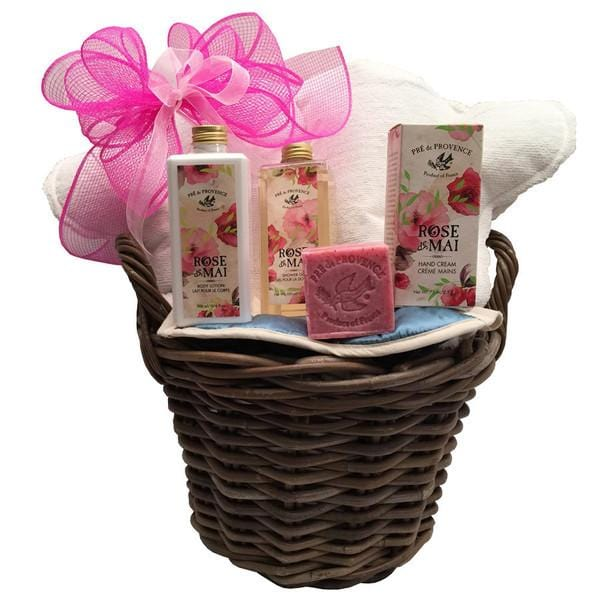 Natural Beauty Spa Gift Basket
