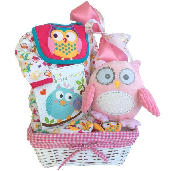 Sweet Baby Girl Gift Basket in Canada