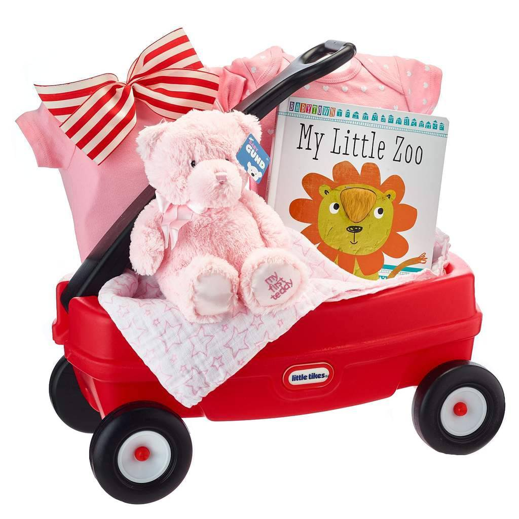Baby Girl Wagon Gift
